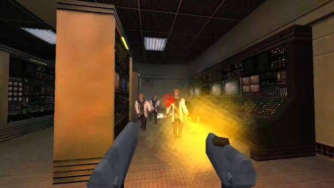 Play Half-Life levels in Dusk with Doom's music, why not