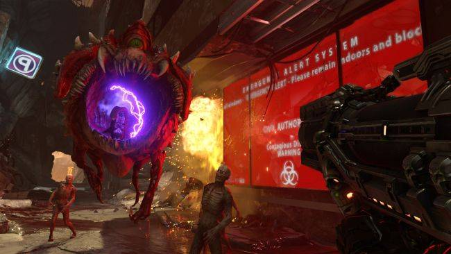 HDR in Doom Eternal is hell, and not in a good way