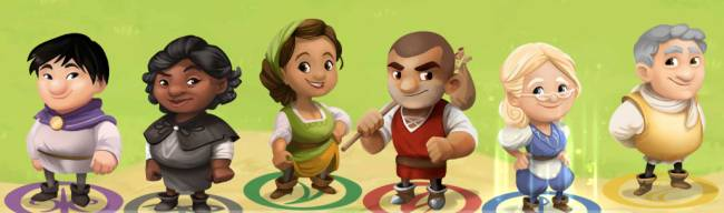 Cute village-builder Charterstone becomes the first legacy board game to go digital