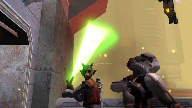 Accidental crossplay between Star Wars: Jedi Academy on PC and console is a slaughter