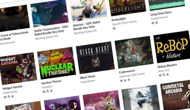 GDC Relief Fund Bundle lets you name your price for 167 games