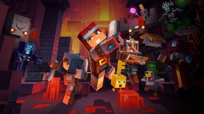 Minecraft Dungeons is delayed until May