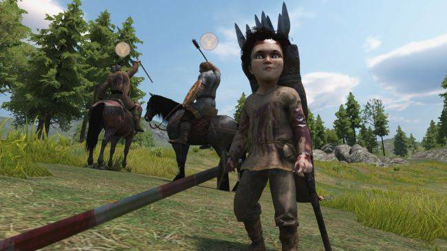 You can play Mount & Blade 2: Bannerlord as a bloodthirsty baby