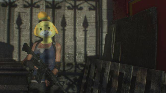 There's already an Animal Crossing mod for Resident Evil 3 Remake