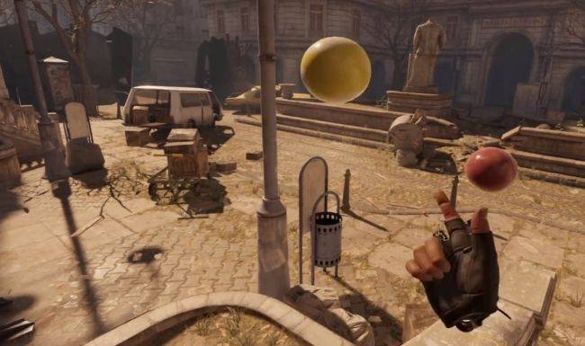 Watch this Half-Life: Alyx player put on a damn juggling masterclass