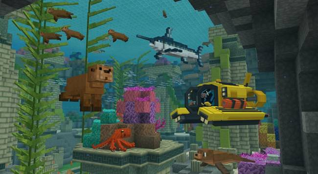 Minecraft Launches Free Educational DLC for Cooped Up Kids