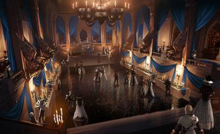 New Images Show Off Dragon Age: Inquisition's Winter Palace In Halamshiral
