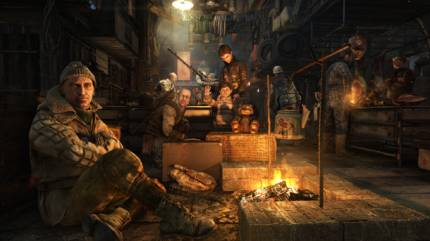 Re-Enter The Metro With Three Redux Screenshots