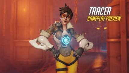 Blizzard Shows Off Overwatch's Time-Bending Teleporter, Tracer