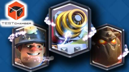 Test Chamber – See One Of Clash Royale's Crazy New Cards In Action
