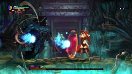 Odin Sphere Leifthrasir's Velvet Dances With Fire And Chains