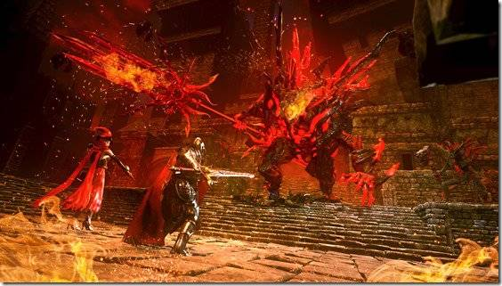 Hell Warders Asks Four Players To Protect An Area From Demonic Assault