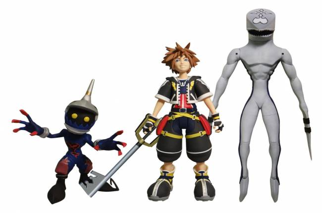 Check Out These Kingdom Hearts 2 Figures Coming This Fall
