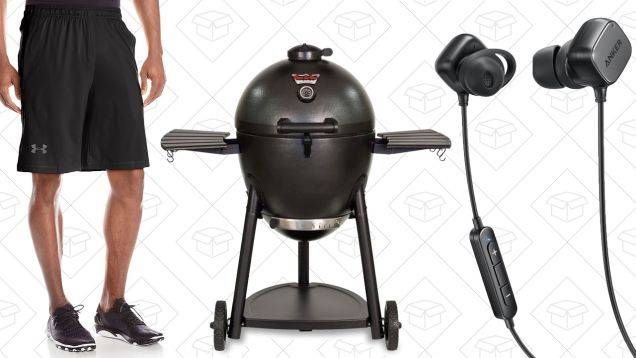 Today's Best Deals: Under Armour Apparel, Kamado Grill, SoundBuds, and More