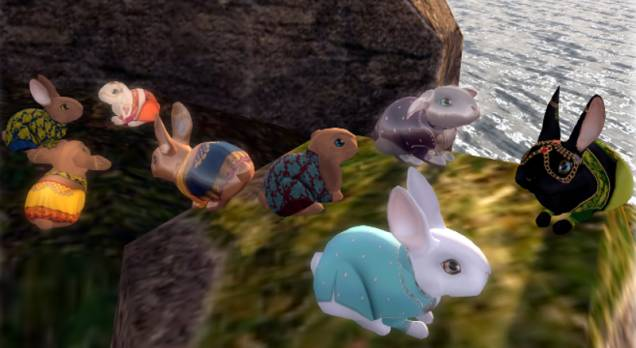 Over the weekend, Second Life bunnies will starve and die.