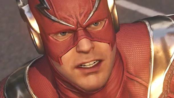 Check Out The Awesome Flash Vs. Reverse Flash Fight From Injustice 2