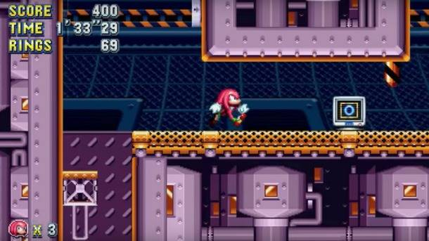 Knuckles Returns To Flying Battery Zone In Newest Sonic Mania Trailer