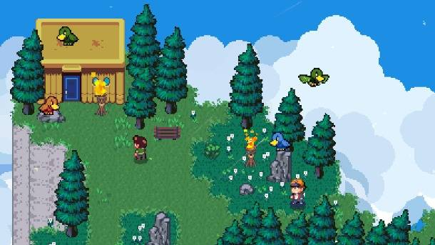 Upcoming Switch Game Golf Story Meshes RPG Elements With A Classic Sport