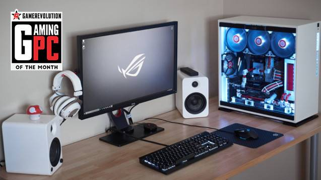 Gaming PC of the Month: WallyWest's White Zenith Gaming Build