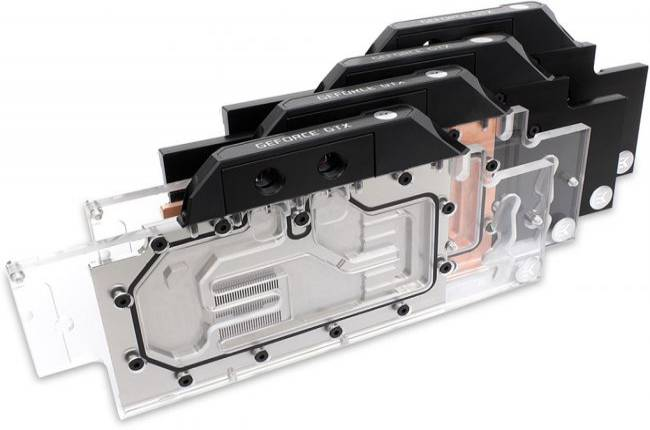 EK wants you to swap your reference GeForce cooler for a full body water block