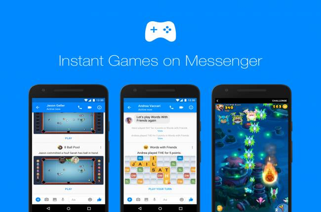 Facebook is serious about playing games on Messenger