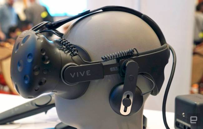 You can fix the HTC Vive's sub-par headstrap on June 6th