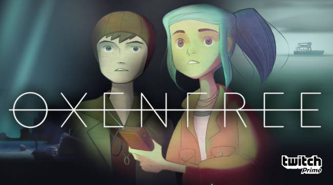 Supernatural indie hit 'Oxenfree' is, well, free with Twitch Prime