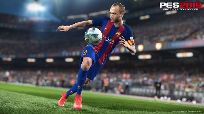 'Pro Evolution Soccer 2018' hits PC and consoles September 12th