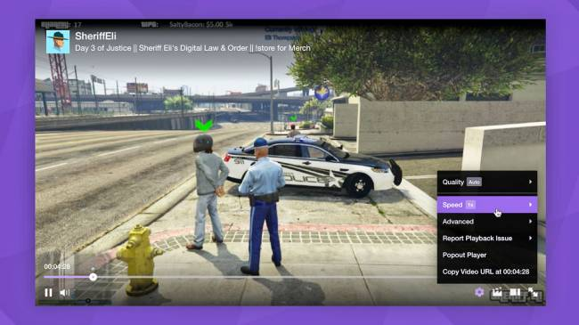 Twitch adds video speed controls to slow down that amazing play