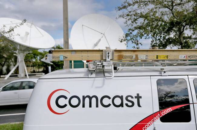 Comcast tries to shut down pro-net neutrality site