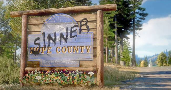 'Far Cry 5' brings cult mayhem to Hope County February 27th
