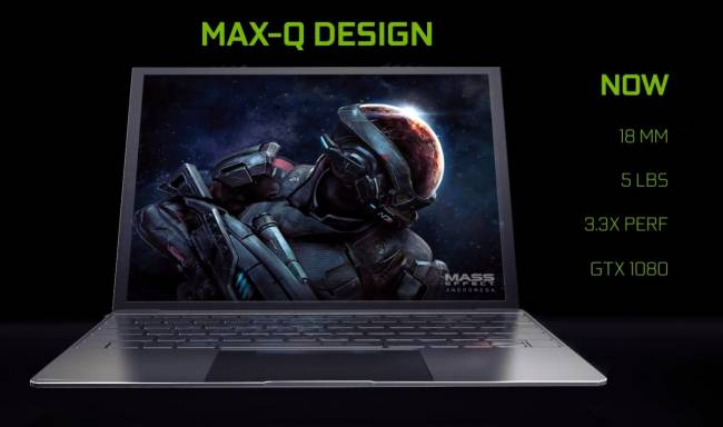 NVIDIA 'Max-Q' gaming laptops are ultrabooks with GTX1080 power