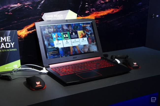 Acer's Nitro 5 is a flashy but forgettable gaming laptop