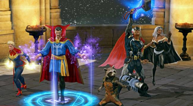 Marvel Heroes Omega Closed Beta Access Code Giveaway