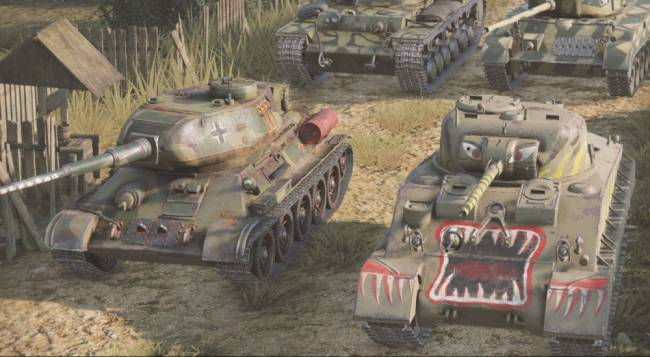 Console Versions of World of Tanks Get Co-Op Mode