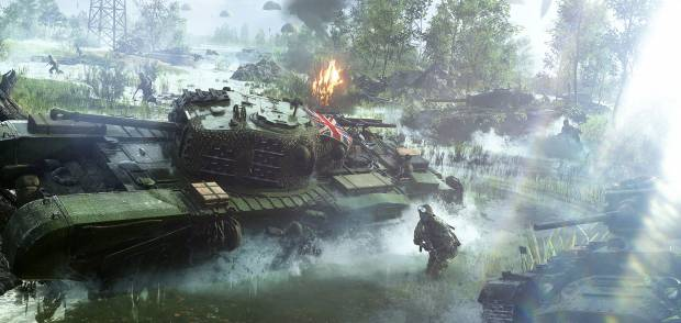 """Battlefield V interview: dodging the lootbox question, and why battle royale """"would really fit the universe"""""""