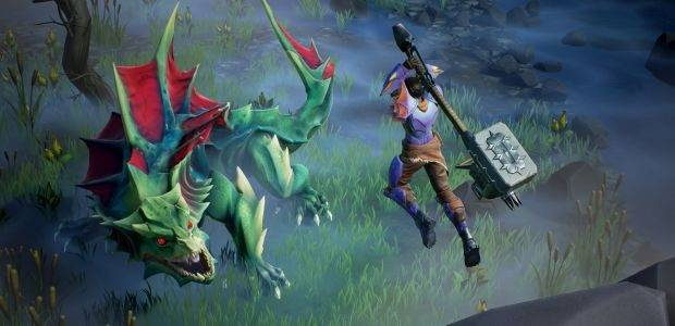 Dauntless invites everyone to slay some poor animals in its open beta