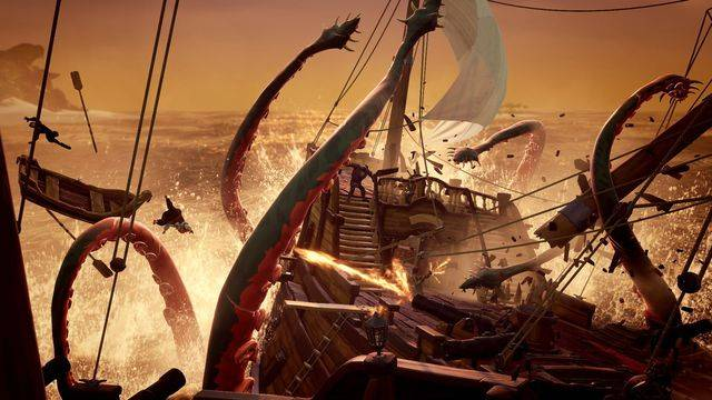 Here's what we know about The Hungering Deep, the first Sea of Thieves expansion