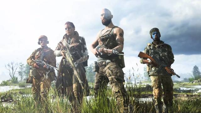 Players can customize every aspect of their characters in Battlefield 5