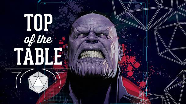 Top Of The Table – Thanos Rising – Avengers: Infinity War
