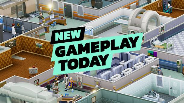 New Gameplay Today – Two Point Hospital