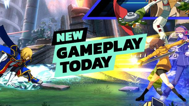New Gameplay Today – BlazBlue: Cross Tag Battle