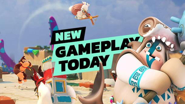 New Gameplay Today – Mario + Rabbids Kingdom Battle DLC