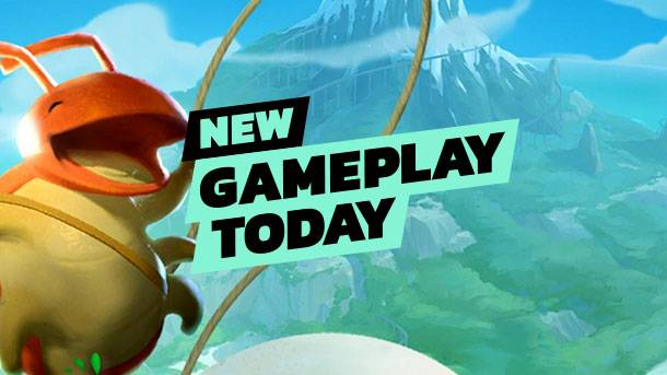 New Gameplay Today – Yoku's Island Express