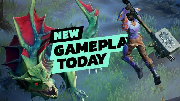 New Gameplay Today – Dauntless