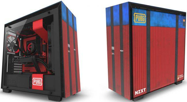 NZXT made a PUBG-themed version of our favorite computer case