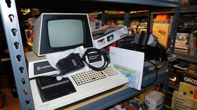 A massive collection of vintage PCs and games is going up for auction this month