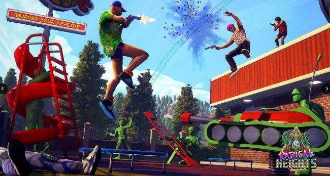 Radical Heights' second update adds scanner gadget that reveals enemy locations on your map
