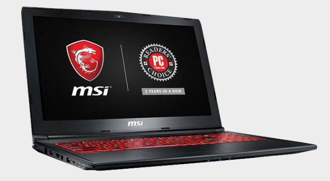 MSI's GTX 1050 gaming laptop is just $597 from Fry's