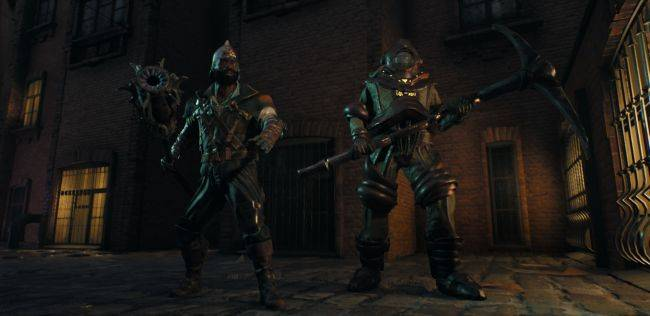 Egress is a neat looking battle royale focused on Souls-like combat